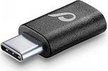 Cellular Line Adattatore Micro USB  USB-C colore Nero - CHADUSBCK