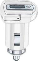 Cellular Line CBRSMUSB10WW Caricabatterie da auto USB Presa Accendisigaro Bianco
