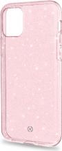 celly SPARKLE1000PK Cover iPhone 11 Pro Apple Custodia colore Rosa Sparkle