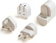 celly TCTRAVELUNI Caricabatterie ACUSB per Smartphone e Tablet colore Bianco