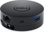 Dell DELL-DA300 Adattatore USB-C to HDMIVGAETHERNETUSB DA300