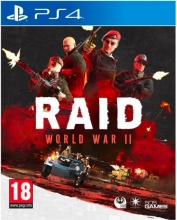 digital bros SP4R08 Videogioco per PS4 Raid World War Ii