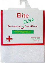 Elite Coprimaterasso Impermeabile Singolo Angoli 198x90x22cm Elba