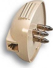 FANTON 22070 Spina tripolare con presa modulare plug 64 c.