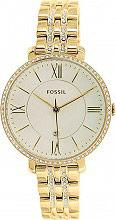 Fossil ES3547 Orologio Donna Acciaio color Oro Analogico al Quarzo con Cinturino