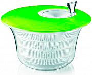 Guzzini 16826284 Centrifuga Insalata con manovella colore Verde