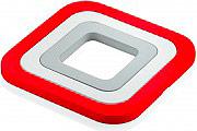 Guzzini 29230055 Sottopentola set 3 pezzi impilabili materiale Silicone