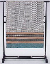 Gabel Telo Arredo Copridivano 1 posto Cotone 180x270 cm Ebano - Tobago
