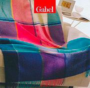 Gabel Plaid Coperta 100% Lana Letto Divano con Frange 130x170 cm - Masai