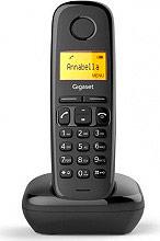 Siemens A 170 BLACK Telefono Cordless DECT ECO GAP 50 Voci in Rubrica Id Chiamante Nero A170