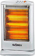 Globex NSKT-120A Stufa elettrica Alogena basso consumo 1200W Oscillante  Eracle