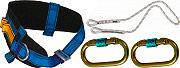 iRudek P1 Plus Cinturone di Sicurezza Imbracatura con Corda e Moschettone