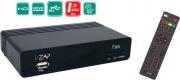 i-Zap T365 Decoder Digitale terrestre HD DVB T2 HEVC USB LAN PVR Timeshift