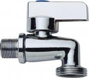 """Idro Bric 30931 Rubinetto a sfera per carico acqua lavatrice 12-34"""" 0"""