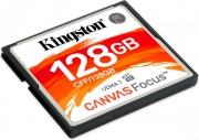 KINGSTON CFF128GB Scheda di Memoria 128 GB CompactFlash Canvas Focus