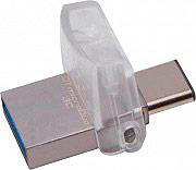 KINGSTON DTDUO3C32GB Pen Drive 32 GB Chiavetta USB 3.1 Bianco Micro Vault