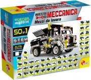 lisciani 68753 Mezzi di Lavoro Meccano costruisci