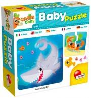 """lisciani 80069 Puzzle Baby """" Il Mare"""" 4 pz Carotina"""