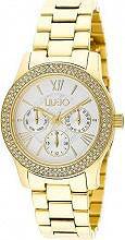 Liu Jo Orologio Donna Acciaio color Oro Analogico Quarzo Cinturino TLJ851 Phenix