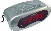 JM EH49101S Sveglia Digitale Snooze Argento EH-49101S