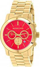 Michael Kors Orologio Uomo Acciaio color Oro al Quarzo Cronografo Cinturino 5930