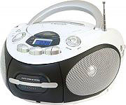 NEW MAJESTIC Radio Portatile Boombox CD Mp3 USB Radio AMFM Cassetta AH-2387