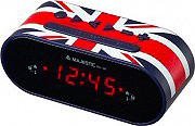 NEW MAJESTIC RS-136 UK Radiosveglia digitale Radio FM Snooze Doppio Allarme