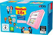 Nintendo Console 2DS Wi-Fi SD Colore Bianco  Rosa + Tomodachi Life 2204449