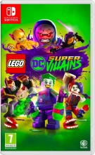 WARNER BROS 1000704837 Videogioco per Switch LEGO DC Super Villains Avventura 7+