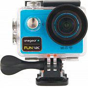 One Gear FUN4KBL Action Cam Wifi 4K 12 Mpx 60 fps Impermeabile HDMI Blu  Fun