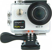 One Gear FUN4KWH Action Cam Wifi 4K 12 Mpx 60 fps Impermeabile HDMI Bianco  Fun