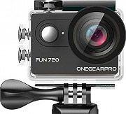 One Gear FUN720BK Action Cam HD 5 Mpx 30 fps Impermeabile 120° Wide Nero  Fun