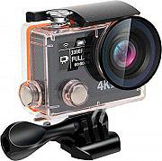 One Gear PRO04K Action Cam Wifi 4K Ultra HD 16 Mpx 60 fps Impermeabile Nero  Pro