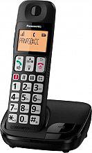 Panasonic KX-TGE110JTB Telefono Cordless DECT Vivavoce Tasti grandi per Anziani