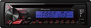 Pioneer Autoradio Sintolettore CD Mp3 USB 1 din Radio FM 200W Aux DEH-1900UBB