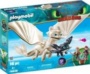 playmobil 70038 Set Furia Chiara Dragons Light Fury with Baby Dragon