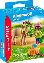 playmobil 70060 Ragazza Con Pony