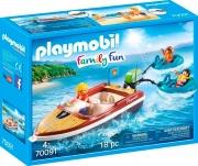 playmobil 70091 Motoscafo Con Go mm oni