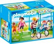 playmobil 70093 Famiglia In Bicicletta