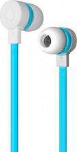 PURO IPHF16BLUE Cuffie Stereo Auricolari Microfono e Tasto di Risposta Blu