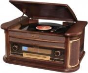 Roadstar Giradischi 33 45 78 giri CD Mp3 Radio FM Bluetooth Vintage HIF1996BT