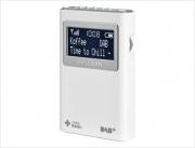 SANGEAN DPR-39 Radio Portatile DAB+ Radiolina LCD Batterie Bianco