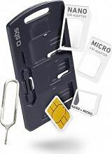 Sbs TEKITSIMADAPTK Adattatore Micro-SIM Kit Nano-SIM a Full-size SIM