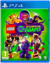 WARNER BROS 1000704833 Videogioco per PS4 LEGO DC Super Villains Avventura 7+