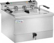 TEKNOLINE FR18 Friggitrice Professionale Elettrica 18 Lt 9000 W Termostato TEK