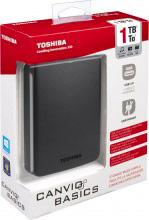 """Toshiba Canvio Basic 1TB Hard Disk esterno 2,5"""" USB 3.0 1000Gb autoalimentato Canvio Basics 1TB"""