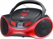 TREVI 0CM53102 Stereo Portatile Boombox CDMP3 USB FM Aux Rosso CMP 531 USB