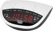 TREVI Radiosveglia Digitale Radio AMFM Snooze Bianco RC 825 D