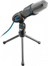 Trust 20378 Microfono Pc a Condensatore Usb Karaoke Registrazione Vocale