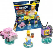 WARNER BROS 71202 Lego Dimensions Level Pack The Simpsons